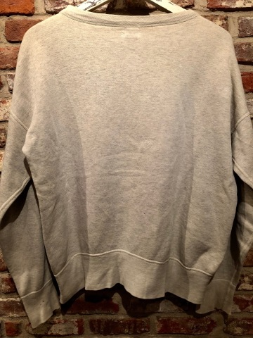 "1950s "" TRIPLE WEAR \"" ALL cotton ‐ V-GUSSET - VINTAGE C/N SWEAT SHIRTS ._d0172088_18230905.jpg"