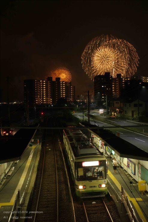 宮島の花火を望む_d0309612_00152240.jpg