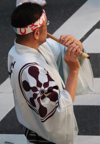 課題曲披露&高円寺阿波踊り_a0052916_23590965.jpg