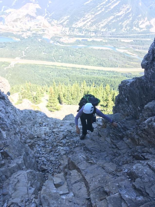 女子ならきっと登りたくなる、ハートマウンテン登頂_d0112928_11085652.jpg