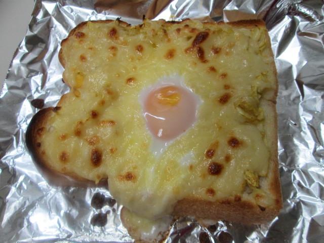 ボリューム満点!卵のっけトースト_d0361028_22171753.jpg