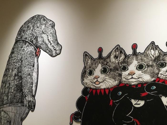 ヒグチユウコさんの「CIRCUS」展 神戸ゆかりの美術館_e0359436_10212568.jpg