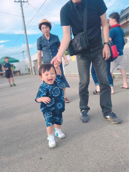 歩けるようなった〜子どもの成長に感謝_b0199244_17355334.jpg