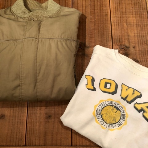 """Early 1950s \"""" UNKNOWN \"""" ALL cotton - フリーダムスリーブ - VINTAGE C/N SWEAT SHIRTS ._d0172088_17180182.jpg"""
