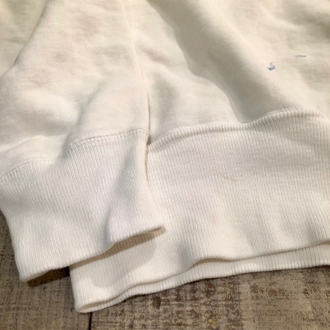 """Early 1950s \"""" UNKNOWN \"""" ALL cotton - フリーダムスリーブ - VINTAGE C/N SWEAT SHIRTS ._d0172088_18014959.jpg"""