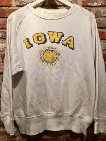 """Early 1950s \"""" UNKNOWN \"""" ALL cotton - フリーダムスリーブ - VINTAGE C/N SWEAT SHIRTS ._d0172088_18050466.jpg"""