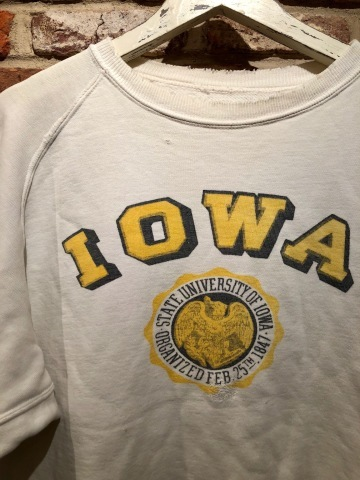 """Early 1950s \"""" UNKNOWN \"""" ALL cotton - フリーダムスリーブ - VINTAGE C/N SWEAT SHIRTS ._d0172088_18064417.jpg"""
