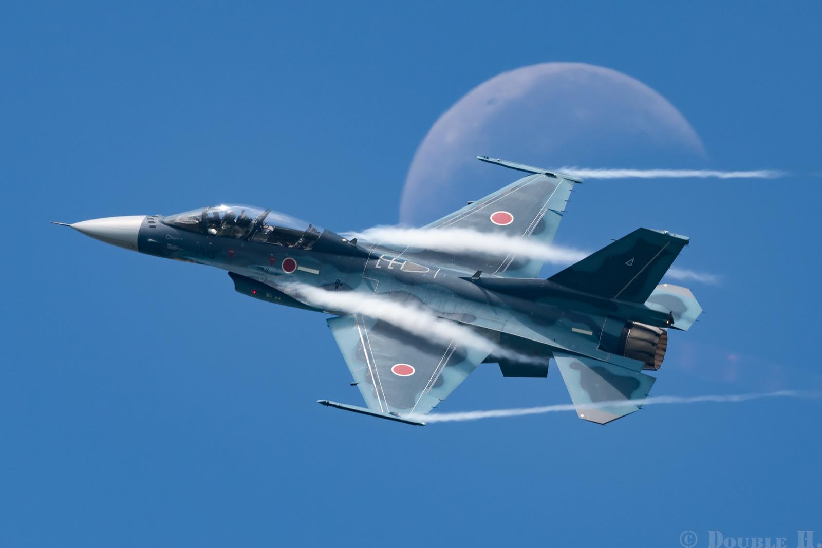 楽しすぎた松島基地航空祭で月絡み_e0401296_23524400.jpg