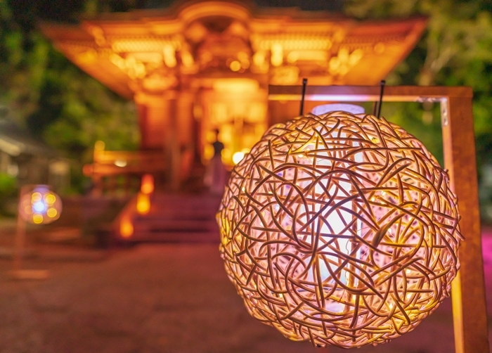 かまくら長谷の灯かり2019 御霊神社・極楽寺・収玄寺のライトアップ_b0145398_21250000.jpg