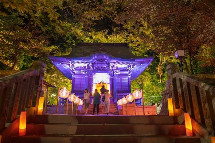 かまくら長谷の灯かり2019 御霊神社・極楽寺・収玄寺のライトアップ_b0145398_21251748.jpg