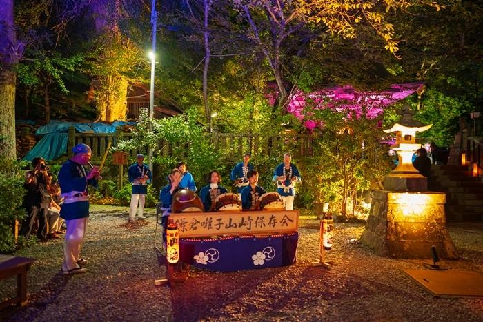 かまくら長谷の灯かり2019 御霊神社・極楽寺・収玄寺のライトアップ_b0145398_21253121.jpg