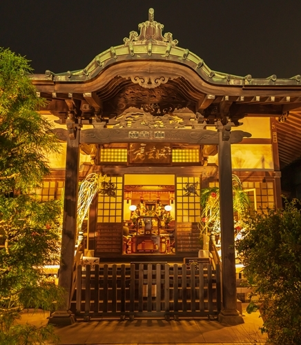かまくら長谷の灯かり2019 御霊神社・極楽寺・収玄寺のライトアップ_b0145398_21325803.jpg