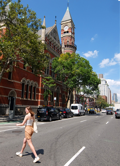 夏のニューヨーク特集、グリニッジ・ビレッジのお散歩にもどります_b0007805_03100284.jpg