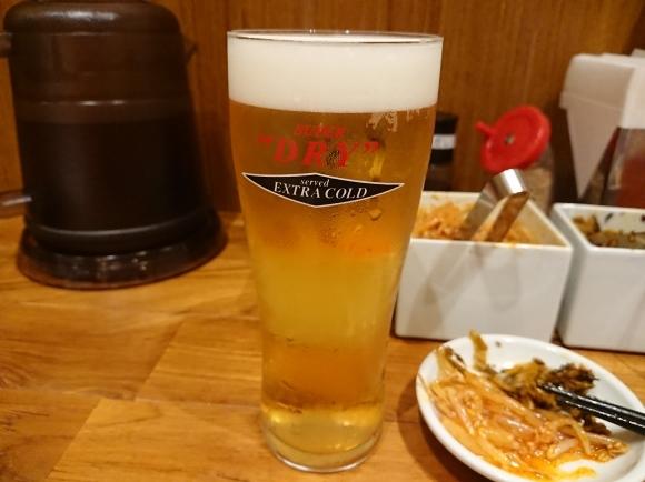 8/25 一風堂セレオ八王子店 ビアラーメン¥1,296_b0042308_00083273.jpg