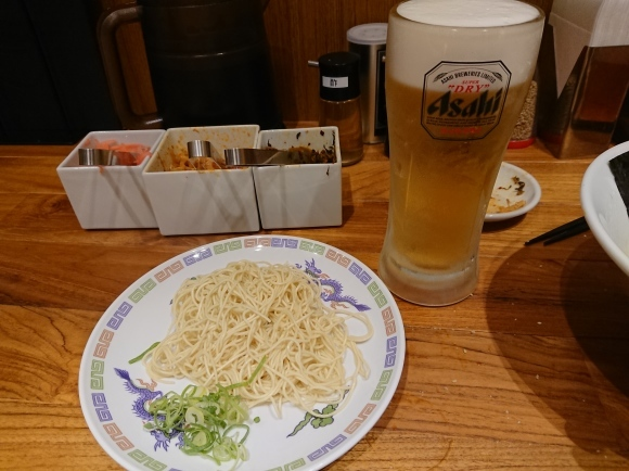 8/25 一風堂セレオ八王子店 ビアラーメン¥1,296_b0042308_00232515.jpg