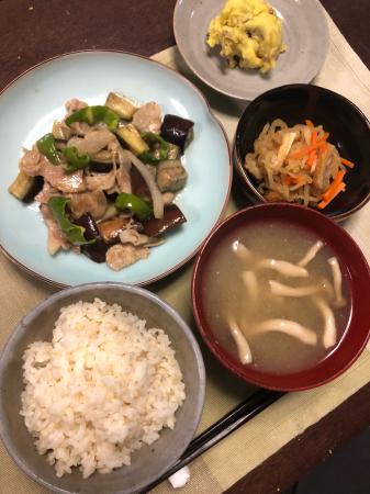 ナスの味噌炒め_d0235108_20115108.jpg
