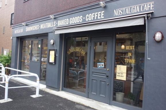 NOSTALGIA CAFEでプリンとスクエアケーキ_e0230011_17034802.jpg