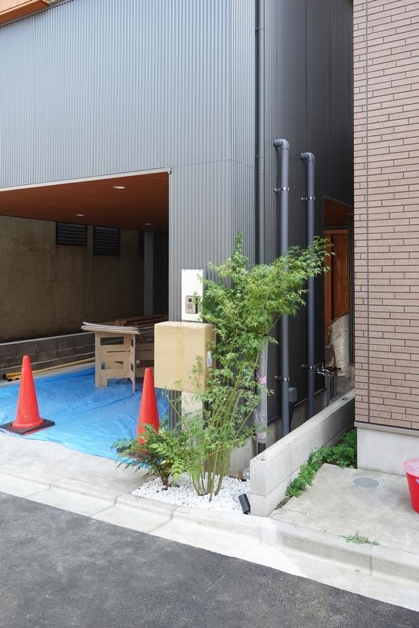 「荒川の家Ⅲ」植栽工事_b0142417_16172145.jpg