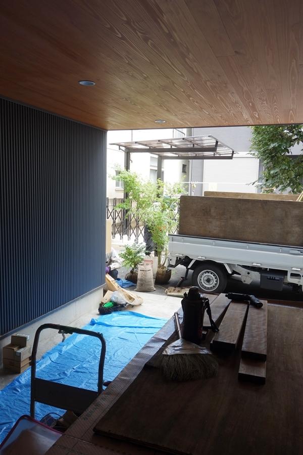 「荒川の家Ⅲ」植栽工事_b0142417_16435188.jpg