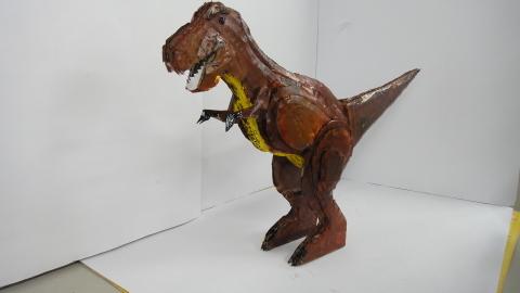 [2019年]夏休みワークショップ③ 8/23恐竜 作品展 _a0269923_23330617.jpg