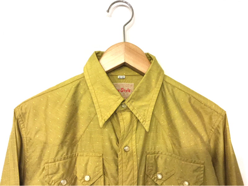 「 お勧めウェスタンシャツはLAパンク!! 」_c0078333_19264419.jpg