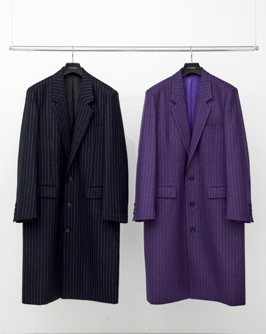 Stripe Chester Field Coat_d0100143_16194566.jpg
