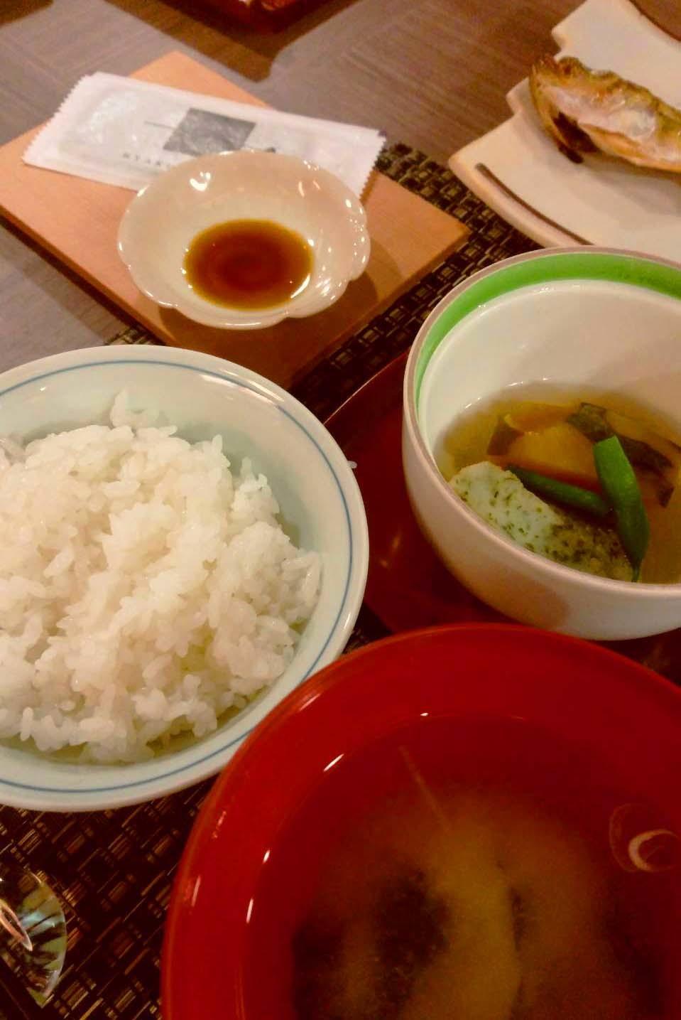湯涌温泉朝市の野菜ごはん_d0377645_22450074.jpg