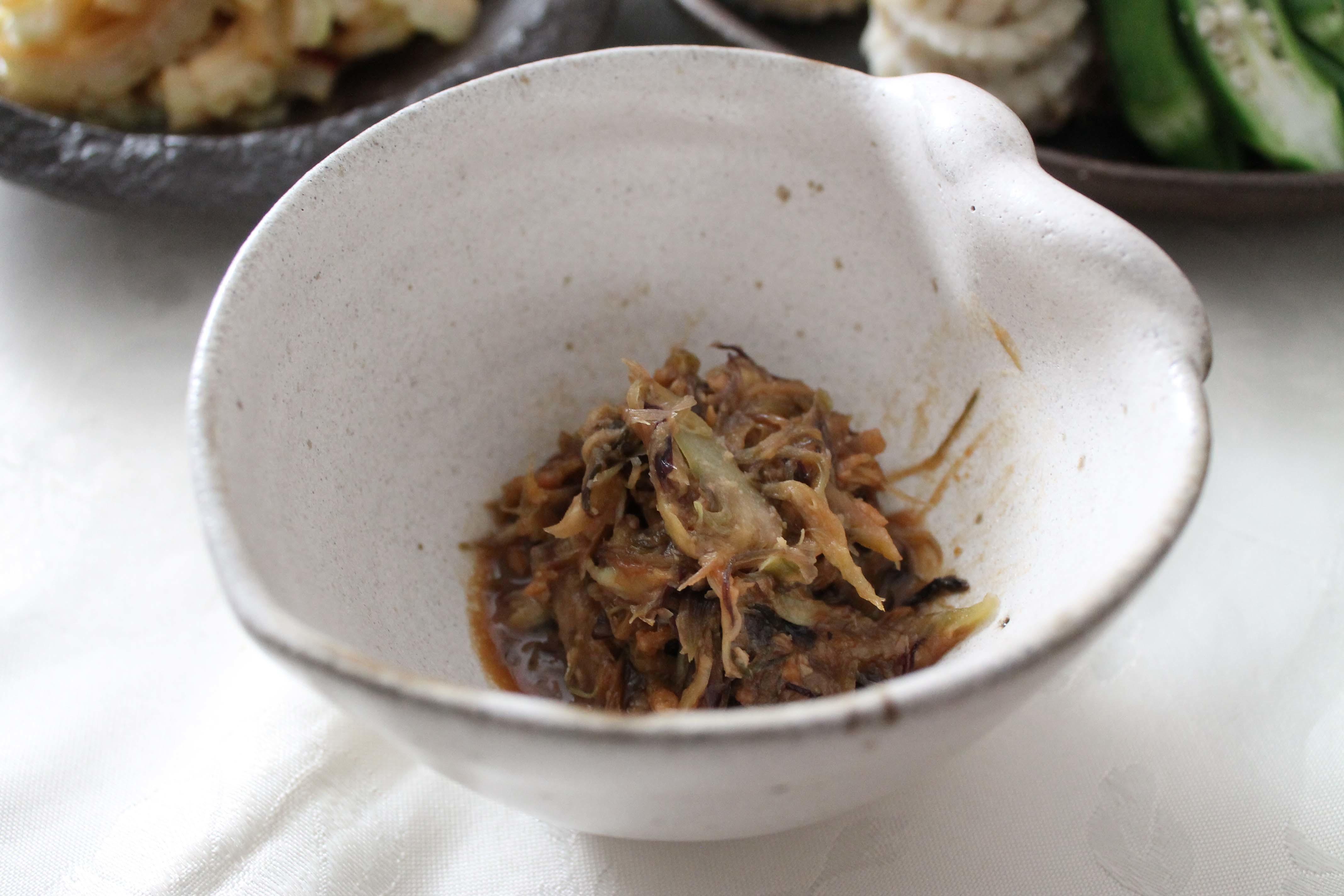 湯涌温泉朝市の野菜ごはん_d0377645_22454491.jpg