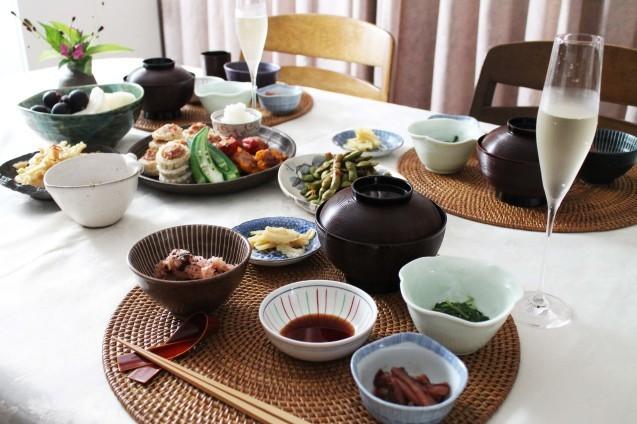 湯涌温泉朝市の野菜ごはん_d0377645_22465267.jpg