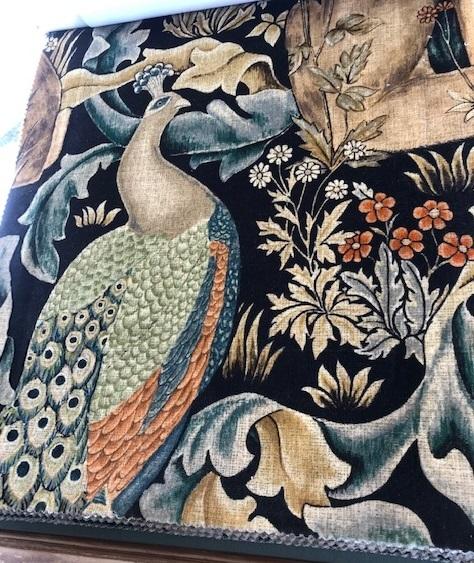 ウィリアムモリスの孔雀・V&A博物館の孔雀のタイルそして。_f0181251_18212697.jpg