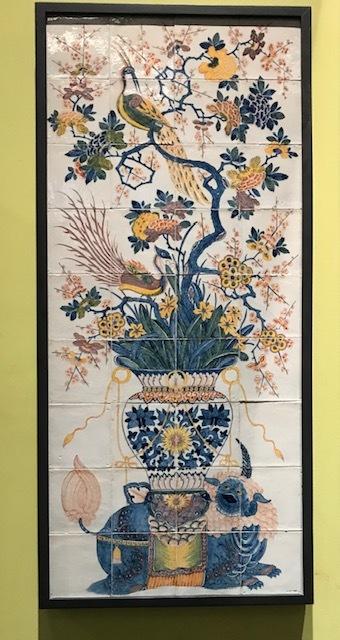 ウィリアムモリスの孔雀・V&A博物館の孔雀のタイルそして。_f0181251_18224643.jpg