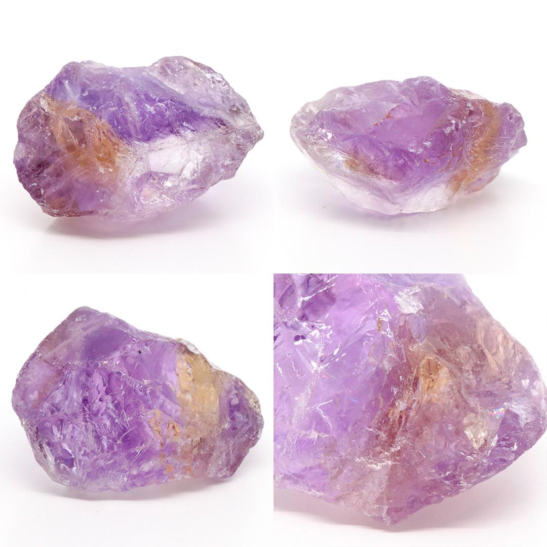 かわいいサイズのアメトリン原石ラフ ボリビア産_d0303974_16222004.jpg