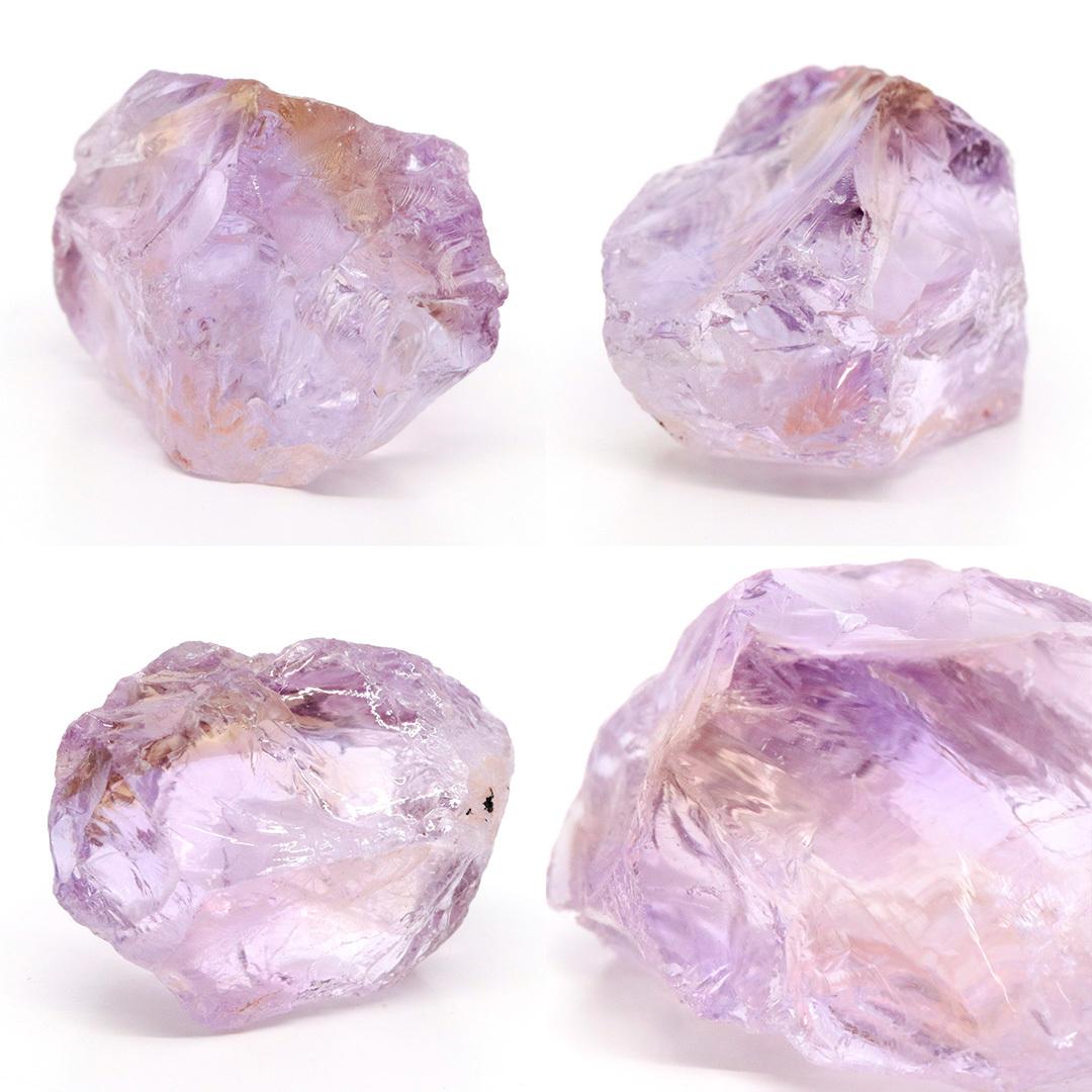 かわいいサイズのアメトリン原石ラフ ボリビア産_d0303974_16222016.jpg