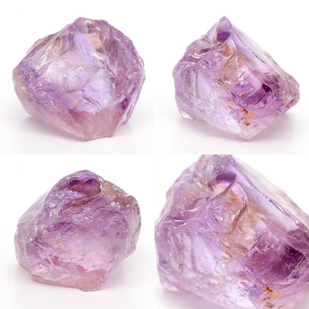 かわいいサイズのアメトリン原石ラフ ボリビア産_d0303974_16222059.jpg