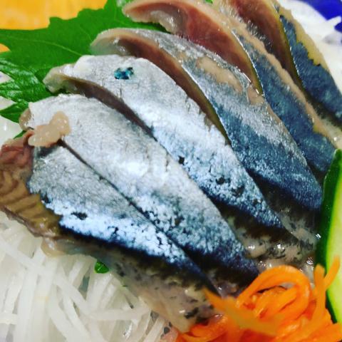 秋刀魚のお刺身など_a0020777_23081011.jpg
