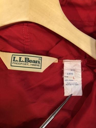 L.L.Bean  アノラックパーカー_b0160480_19473811.jpeg
