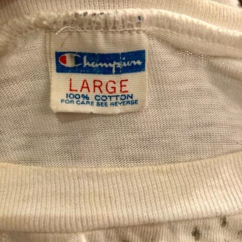 "1970s \"" CHAMPION \"" 100% cotton - HARLEY DAVIDSON NO.1 - VINTAGE 染み込みPRINT Tee SHIRTS ._d0172088_21223580.jpg"