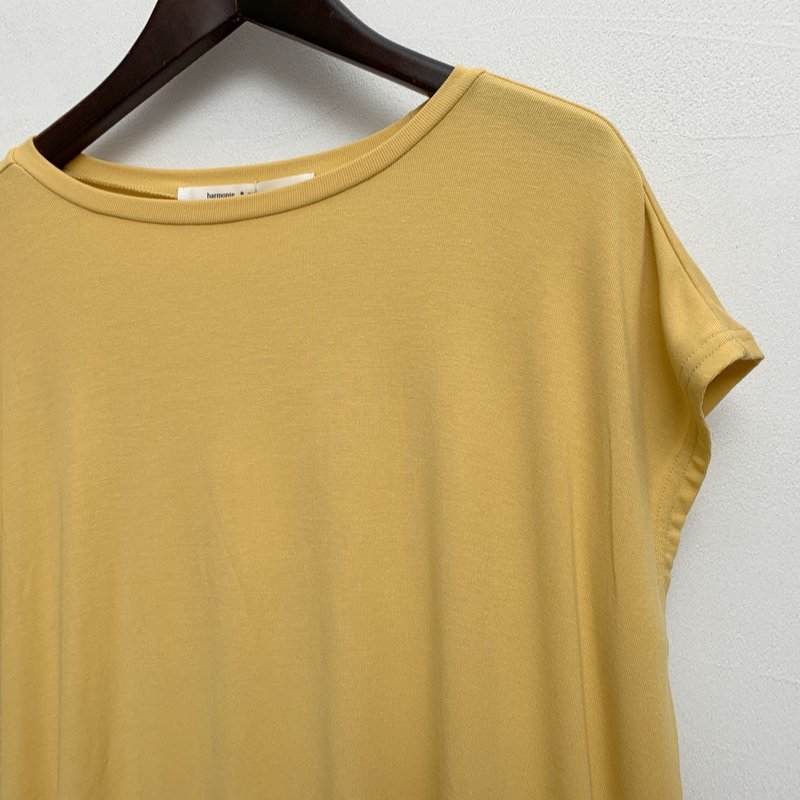 滑らかな素材地のフレンチTシャツ_d0119692_18581658.jpg