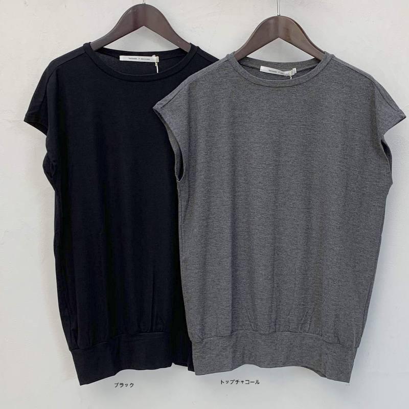 滑らかな素材地のフレンチTシャツ_d0119692_18582287.jpg