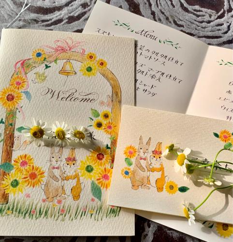 森の結婚式シリーズ ヒマワリ_b0105897_02020545.jpg