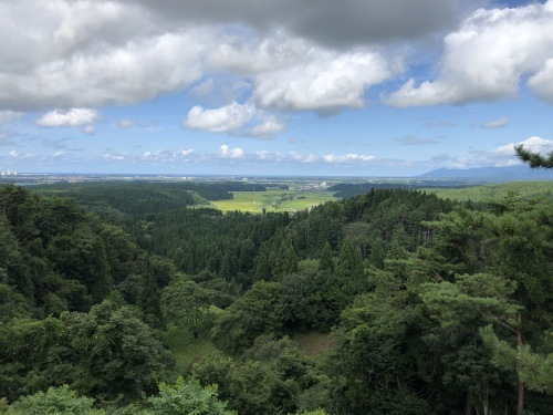 檜山城跡第4次調査見学会_e0054299_12082801.jpg