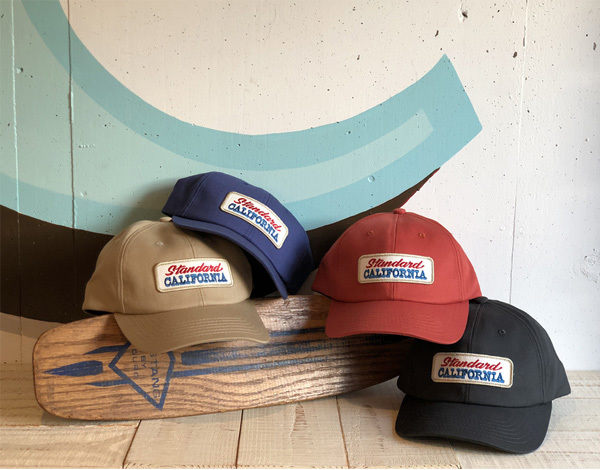 【DELIVERY】 STANDARD CALIFORNIA - Logo Patch Twill Cap_a0076701_15512609.jpg
