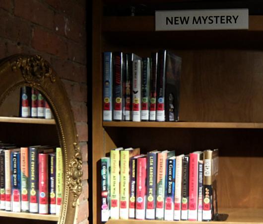 ニューヨークの地下にある図書館、 Jefferson Market Library_b0007805_01513178.jpg