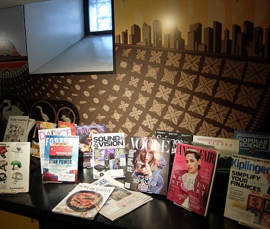 ニューヨークの地下にある図書館、 Jefferson Market Library_b0007805_01561662.jpg