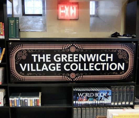 ニューヨークの地下にある図書館、 Jefferson Market Library_b0007805_01594035.jpg