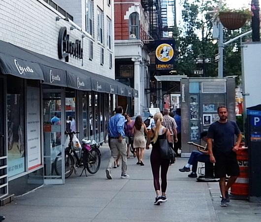 夏のニューヨーク、グリニッジ・ビレッジの普通の街角風景_b0007805_02105957.jpg