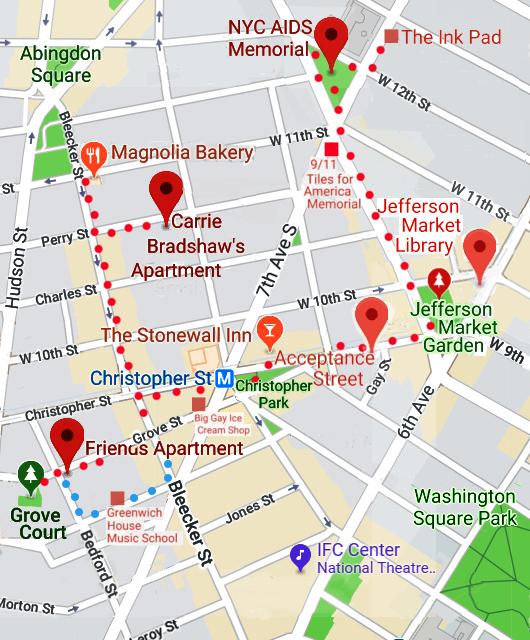 AIDS最前線で戦った聖ヴィンセント病院跡地にできたNYCエイズ・メモリアル公園_b0007805_04062695.jpg
