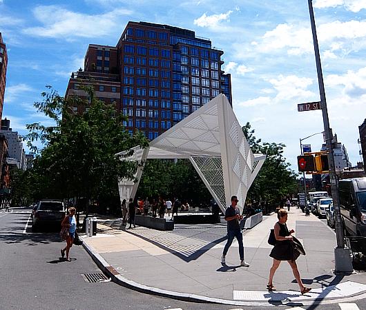 NYCエイズ・メモリアル・パーク・スカルプチャー NYC AIDS Memorial Park sculpture_b0007805_04451281.jpg
