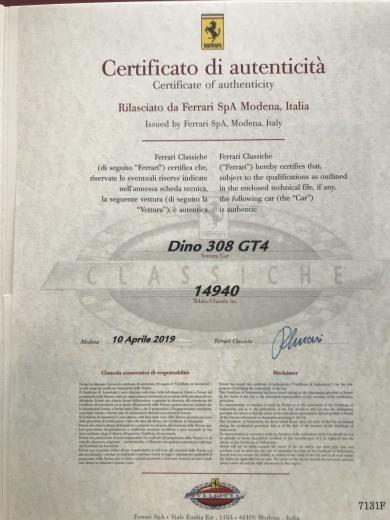 11台目のFerrari Classhiche 取得_a0129711_11405059.jpg