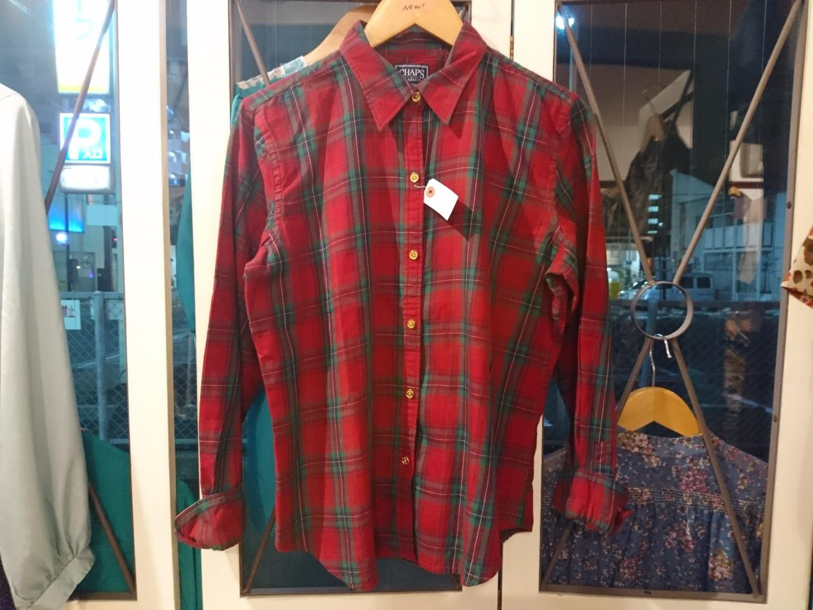 チャプス チェックシャツ_d0256914_21353603.jpg